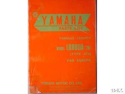 Yamaha Chappy Parts Manual